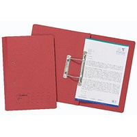 Guildhall Transfer Files, 285gsm, Foolscap, Red, Pack of 25
