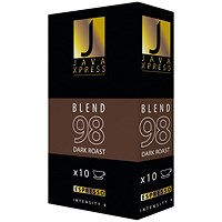 Java Xpress Blend 98 Coffee Capsules (Pack of 100)