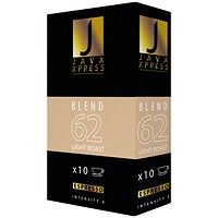 Java Xpress Blend 62 Coffee Capsules (Pack of 100)
