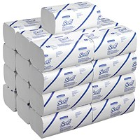 Scott 1-Ply M-Fold Hand Towels 175 Sheets (Pack of 25) 6633