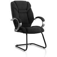Galloway Cantilever Chair - Black