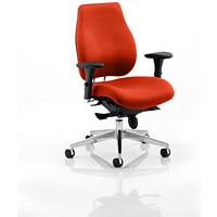 Chiro Plus Ergo Posture Chair - Tabasco Red