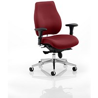 Chiro Plus Ergo Posture Chair - Ginseng Chilli