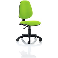 Eclipse 1 Lever Task Operator Chair - Myrrh Green