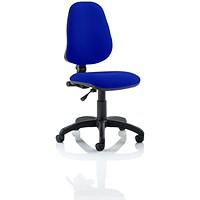 Eclipse 1 Lever Task Operator Chair - Stevia Blue