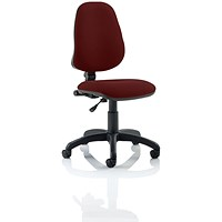 Eclipse 1 Lever Task Operator Chair - Ginseng Chilli