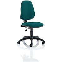 Eclipse 1 Lever Task Operator Chair - Maringa Teal