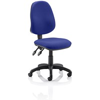 Eclipse 2 Lever Task Operator Chair - Stevia Blue