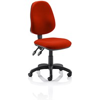 Eclipse 2 Lever Task Operator Chair - Tabasco Red