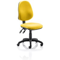 Eclipse 2 Lever Task Operator Chair - Senna Yellow