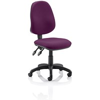 Eclipse 2 Lever Task Operator Chair - Tansy Purple