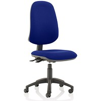 Eclipse XL 3 Lever Task Operator Chair - Stevia Blue