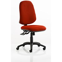 Eclipse XL 3 Lever Task Operator Chair - Tabasco Red