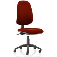 Eclipse XL 3 Lever Task Operator Chair - Ginseng Chilli