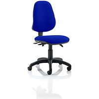 Eclipse 3 Lever Task Operator Chair - Stevia Blue