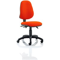 Eclipse 3 Lever Task Operator Chair - Tabasco Red