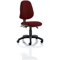 Eclipse 3 Lever Task Operator Chair - Ginseng Chilli
