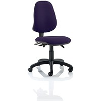 Eclipse 3 Lever Task Operator Chair - Tansy Purple