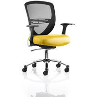 Iris Task Operator Chair - Senna Yellow