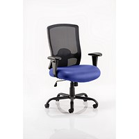 Portland HD Operator Chair, Mesh Back, Stevia Blue