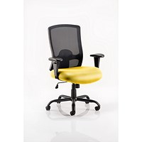 Portland HD Operator Chair, Mesh Back, Senna Yellow