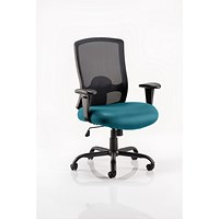 Portland HD Operator Chair, Mesh Back, Maringa Teal