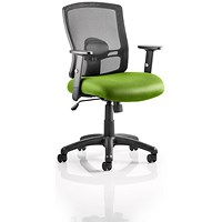 Portland Task Operator Chair, Mesh Back, Myrrh Green