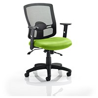 Portland 2 Operator Chair, Mesh Back, Myrrh Green