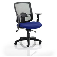 Portland 2 Operator Chair, Mesh Back, Stevia Blue