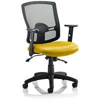 Portland 2 Operator Chair, Mesh Back, Senna Yellow