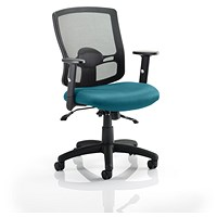 Portland 2 Operator Chair, Mesh Back, Maringa Teal