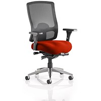 Regent Task Operator Chair, Mesh Back, Tabasco Red