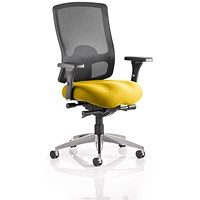 Regent Task Operator Chair, Mesh Back, Senna Yellow
