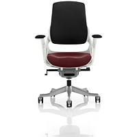 Zure Executive Chair, Black Back, Ginseng Chilli