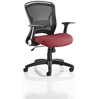 Zeus Task Operator Chair, Mesh Back, Ginseng Chilli