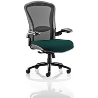 Houston Heavy Duty Task Operator Chair, Mesh Back, Maringa Teal