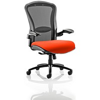 Houston Heavy Duty Task Operator Chair, Mesh Back, Tabasco Red