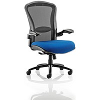 Houston Heavy Duty Task Operator Chair, Mesh Back, Stevia Blue