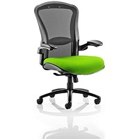 Houston Heavy Duty Task Operator Chair, Mesh Back, Myrrh Green
