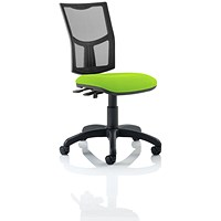 Eclipse 2 Lever Task Operator Chair, Mesh Back, Myrrh Green