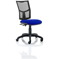 Eclipse 2 Lever Task Operator Chair, Mesh Back, Stevia Blue