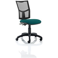 Eclipse 2 Lever Task Operator Chair, Mesh Back, Maringa Teal