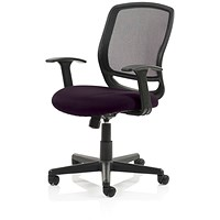 Mave Task Operator Chair, Black Mesh, Tansy Purple