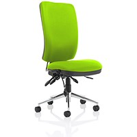Chiro High Back Operator Chair - Myrrh Green