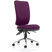 Chiro High Back Operator Chair - Tansy Purple