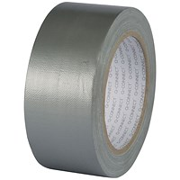 Q-Connect Silver Duct Tape - 48mm x 25m Roll