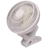 Q-Connect Clip-On Fan, 6 Inch