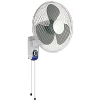 Q-Connect Wall Fan / 16 Inch / White