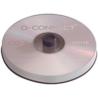 Q-Connect CD-R 700MB/80minutes Spindle (Pack of 50)