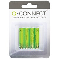 Q-Connect AAA - Longlife Batteries